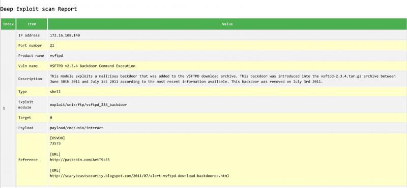 DeepExploit工具(后渗透自动化工框架)调研