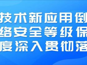 公安部李明:新技术新应用倒逼网络安全等级保护制度深入贯彻落实