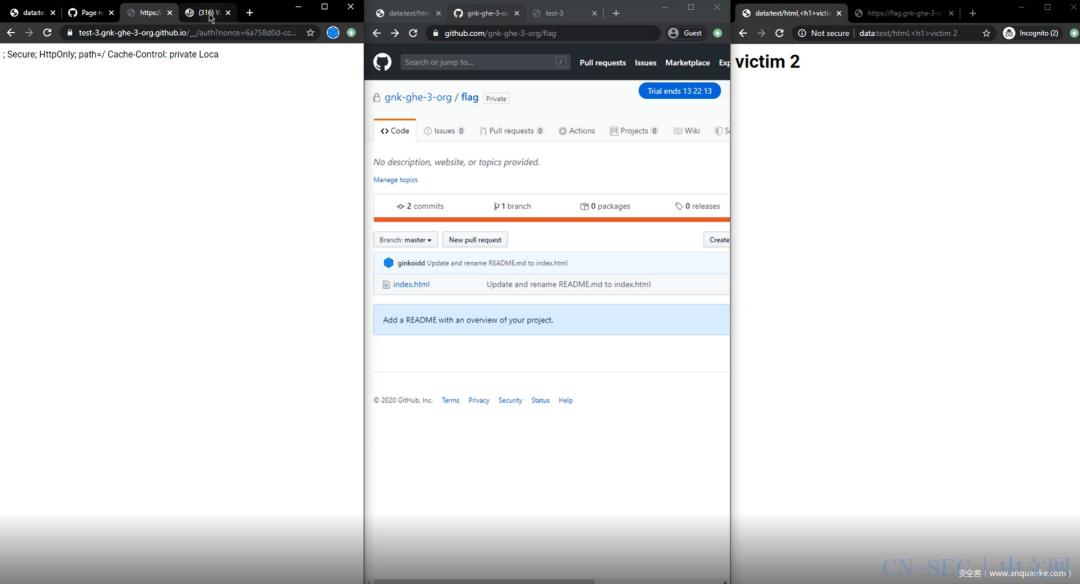 【技术分享】赏金000的GitHub漏洞:攻破GitHub私有页面