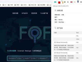 开源项目   Fofa pro view - FOFA Pro 资产展示浏览器插件