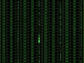 【vb知识】VB Ascii 码对照表