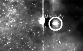 UFO造访水星视频遭网友曝光 美天文学家否认