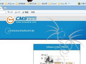 思维内容管理系统(CMSware 2.7 pro) 后台拿 Shell