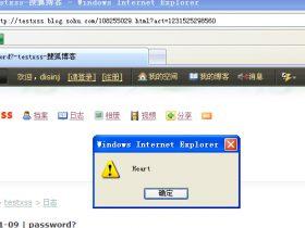 搜狐博客/博客大巴 日志模块XSS漏洞(2009.1.10.漏洞首发)