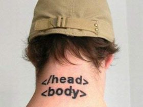 程序员的纹身