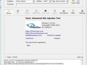 Havij v1.15 Pro CracKed By Hmily[LCG]