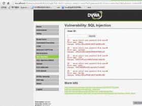DVWA中学习PHP常见漏洞及修复方法