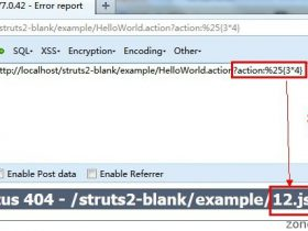 struts2 最新S2-016-S2-017漏洞通杀struts2所有版本