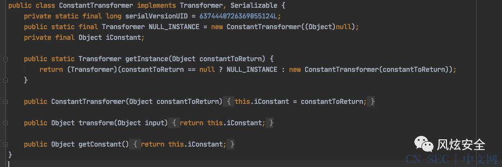 Java代码审计系列第二课 实际案例讲解Apache Commons Collections反序列化漏洞
