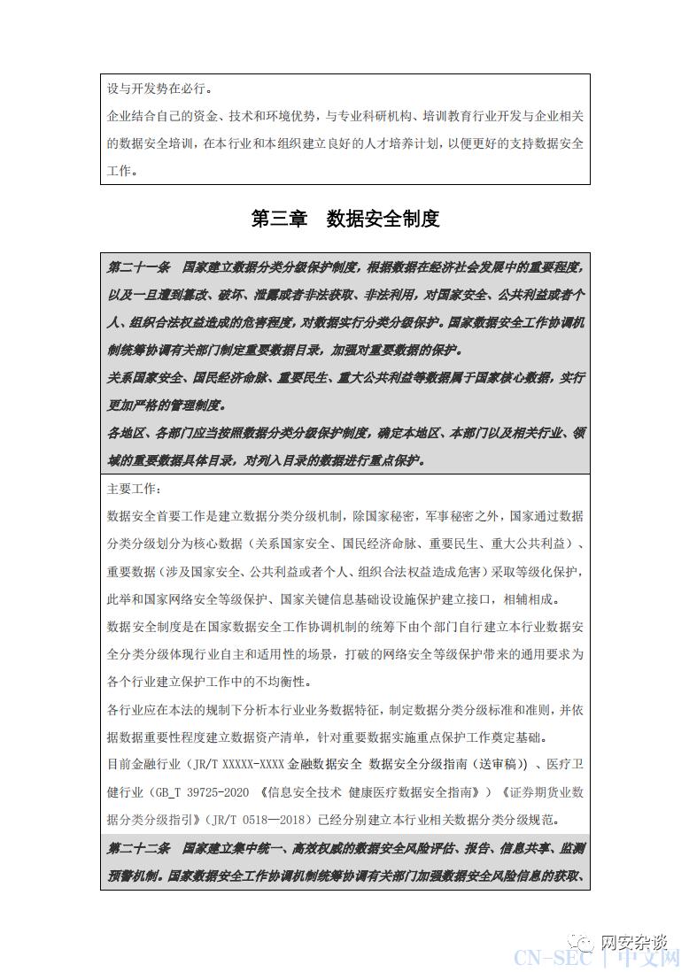 樊山:《数据安全法》解读