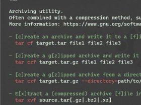 推荐 18 个终端命令行工具