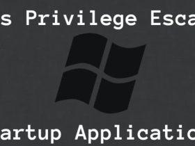 【漏洞利用】Windows 权限提升 - 启动应用程序