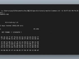 MAC M1安装aircrack-ng绕坑与破解WIFI密码
