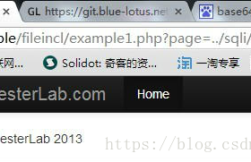 通过php://filter/read=convert.base64-encode/resource= 利用LFI来查看源码