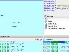 第一个PWN:栈溢出原理以及EXP的编写
