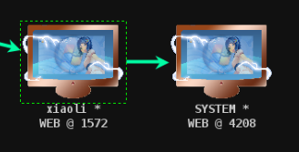 图23 Connected to system privilege beacon