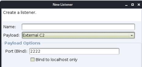 图11 External C2 listener
